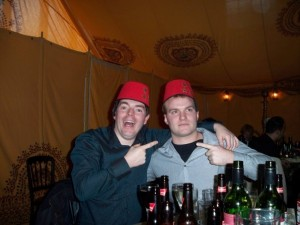 Fine looking hats you have there boys?