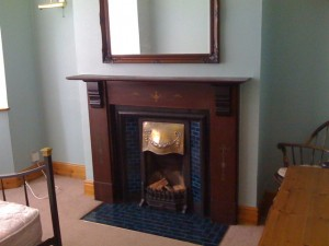 Fab fire place